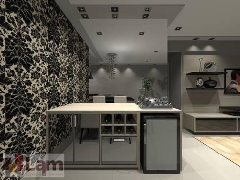 Adega - Projeto: Adegas modernas por LAM Arquitetura | Interiores