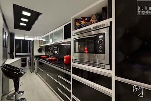 Apartamento jovem : Cozinhas modernas por Bethina Wulff