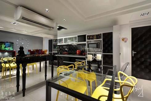Apartamento jovem : Salas de jantar modernas por Bethina Wulff