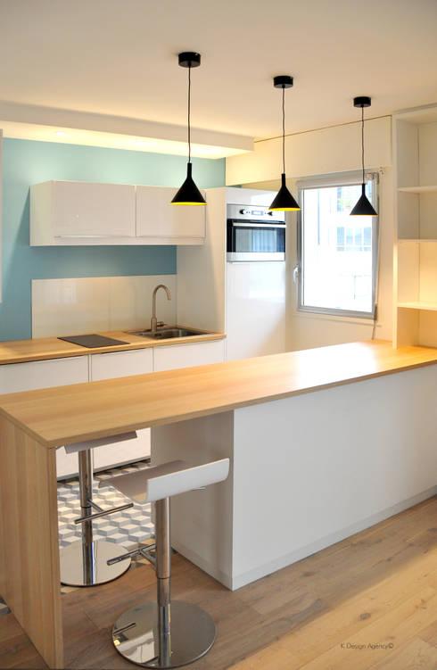 La Cuisine - un espace à vivre: Cuisine de style de style Scandinave par K Design Agency
