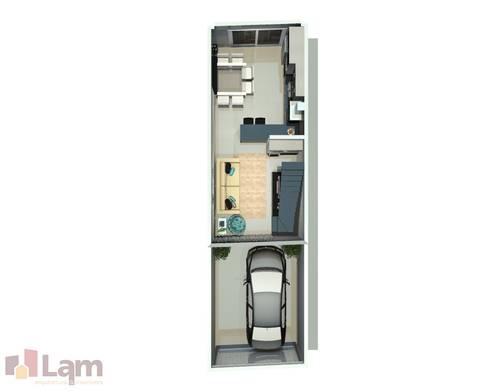 Vista Superior - Projeto:   por LAM Arquitetura   Interiores