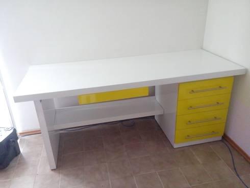 Juego de muebles para oficina por nesign dise o y for Muebles para oficina en argentina