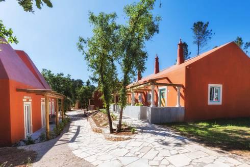 Luz Charming Houses _ Boutique Hotel: Jardins campestres por SegmentoPonto4