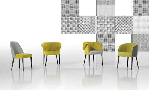 Gomo Collection: Sala de estar  por Fenabel-The heart of seating