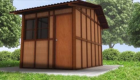 Tubotecnia: Casas de estilo clásico por Tubotecnia sas
