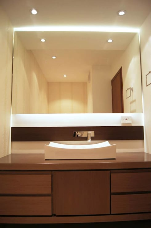 Baño Social. : Baños de estilo clásico por MARECO DESIGN S.A.S