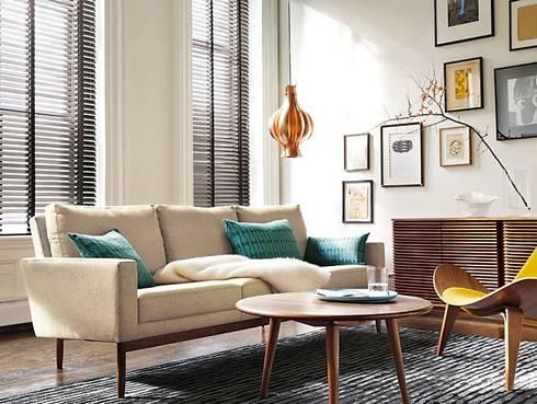 Credenza LINE diseñada por Nathan Yong para DWR. : Salas de estilo moderno por Design Within Reach Mexico