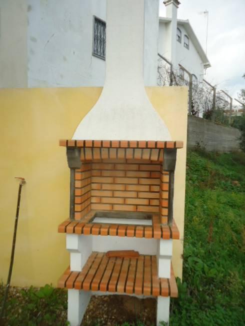 Projekty,  Kuchnia zaprojektowane przez Atádega Sociedade de Construções, Lda