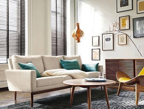 Sofa Raleigh: Salas de estilo moderno por Design Within Reach Mexico
