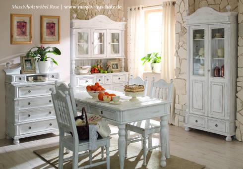 Landhausmoebel | Shabby Chic Alt Weiß By Massiv Aus Holz | Homify