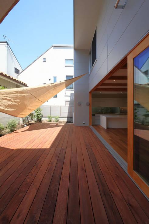 SKR: 一級建築士事務所アトリエソルト株式会社が手掛けたテラス・ベランダです。