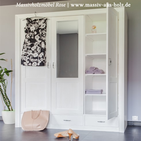 Massiv aus Holz 의 Moderne Massivholzmöbel | homify