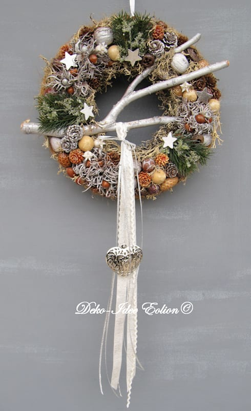 Türkränze türkränze advent weihnachten by deko idee eolion homify