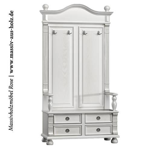 Dielenmöbel | Garderoben und Flurschränke von Massiv aus Holz | homify