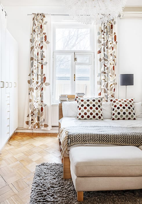 scandinavian Bedroom by K-Studio