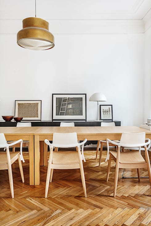 scandinavian Dining room by K-Studio