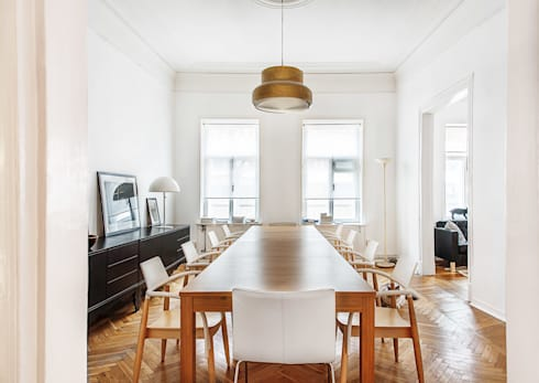 Comedores de estilo escandinavo por K-Studio