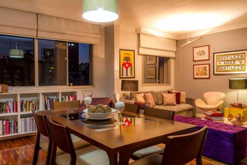 Sala Jantar: Salas de jantar modernas por contato83