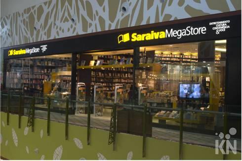 Saraiva - Manauara Shopping | AM: Lojas e imóveis comerciais  por KN Associados