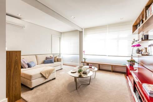 Vila Nova: Salas de estar modernas por contato83