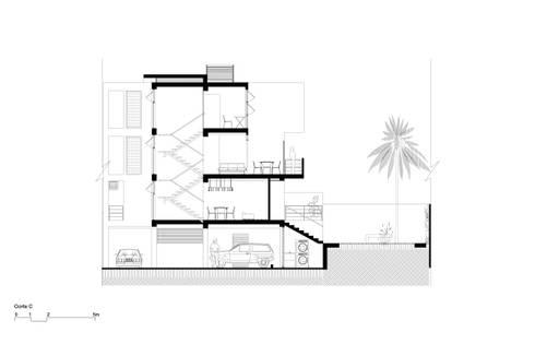 RESIDENCIAS PARQUE VIRGINIA: casas entre luces:  de estilo  por NMD NOMADAS