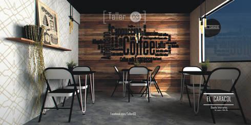 Panadería El Caracol: Espacios comerciales de estilo  por Taller 03
