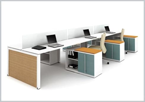 Mirlyn : Oficinas y tiendas de estilo  por Riviera