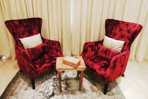 Sanghvi Residence: modern Bedroom by SwitchOver Studio