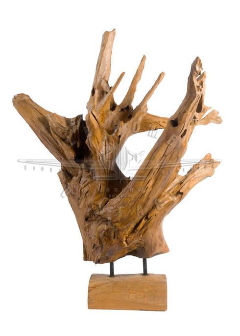 Декорация деревянная V685: Гостиная в . Автор – LeHome Interiors