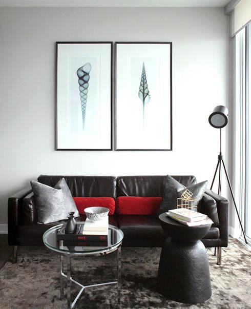 Appaprtement, 2013: Salon de style de style Moderne par ANNA DUVAL