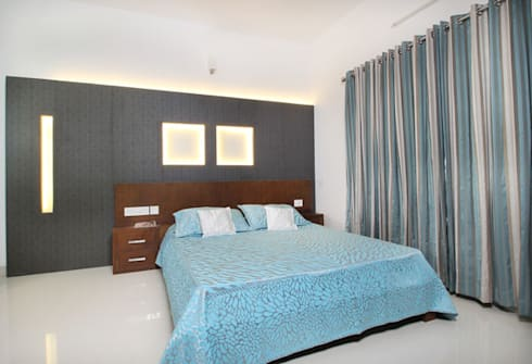 Dr. P.S.John: modern Bedroom by stanzza