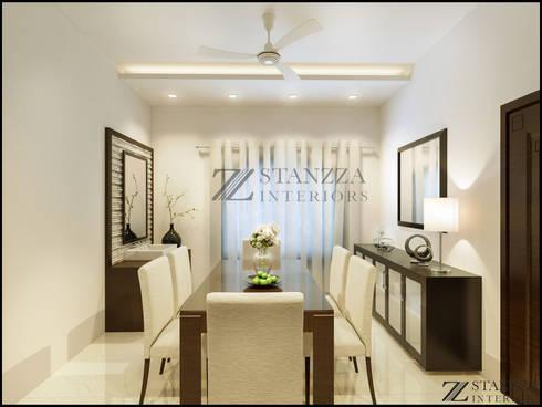 Jubin Raj: modern Dining room by stanzza