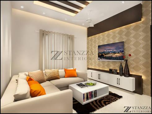 Jubin Raj: modern Living room by stanzza