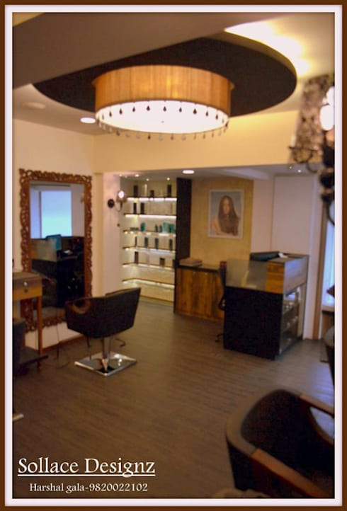 RENEE MELEK SALON:  Commercial Spaces by Sollace Designz