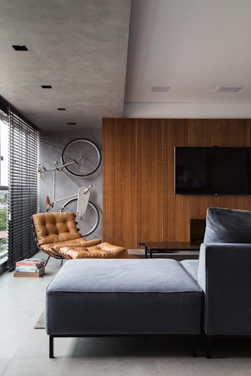 APARTAMENTO JB : Salas de estar minimalistas por AMBIDESTRO