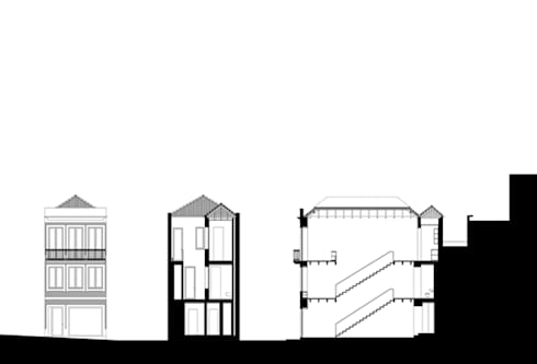 Atelier ASVS, Porto:   por ASVS Arquitectos Associados