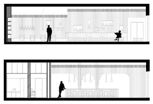 Piazza Régio Bar:   por ASVS Arquitectos Associados