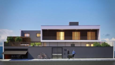 CASA SJ: Casas modernas por AF Arquitetura