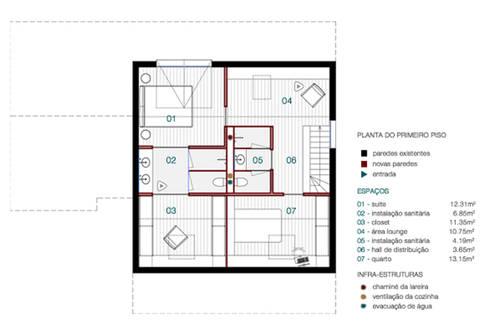 Habitação Verneuil, Clamart, França:   por ASVS Arquitectos Associados