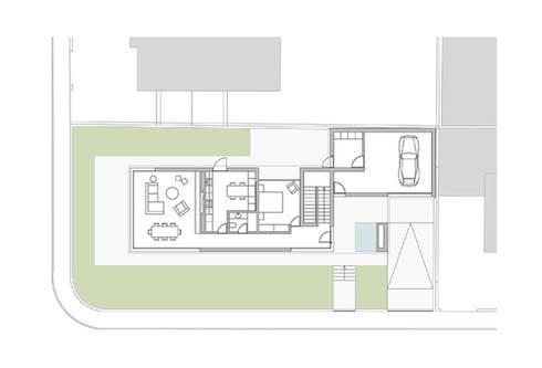 Casa em Arcozelo, Vila Nova de Gaia:   por ASVS Arquitectos Associados