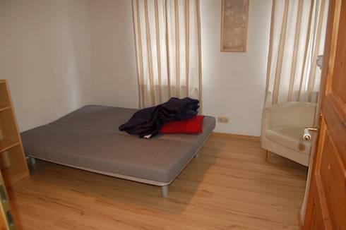 Wohnzimmer vorher :   von Immotionelles