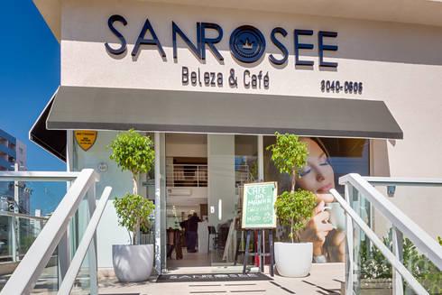 Projeto Sanrosee: Espaços comerciais  por Janaína Marques & Jennyfer Gotardo