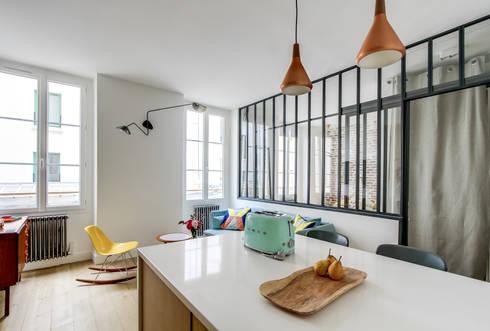 projet lamartine transition interior design por transition interior design homify. Black Bedroom Furniture Sets. Home Design Ideas