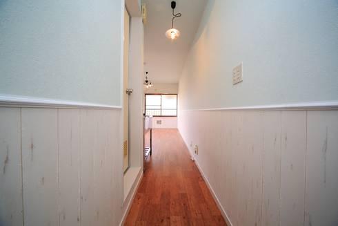 築古木造アパートリノベーション: みなやまくみこ.comが手掛けたです。