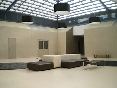 Hall trade center sant cugat de marc p rez interiorismo homify - Sant cugat trade center ...