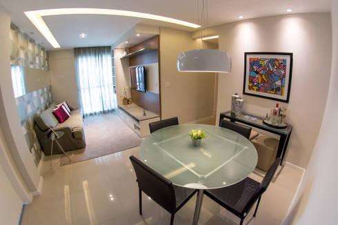 Sala de Jantar : Salas de jantar modernas por Millena Miranda Arquitetura