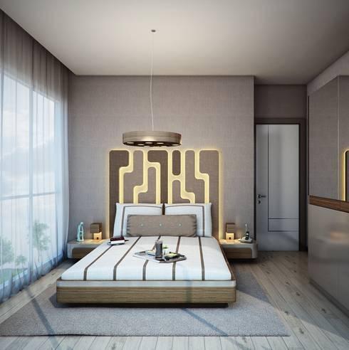 Dormitorios de estilo  de CCT INVESTMENTS