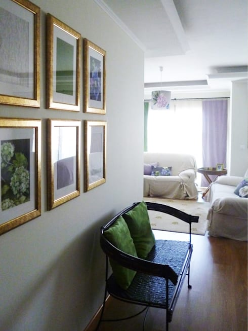 Sala Comum: Salas de estar clássicas por maria inês home style