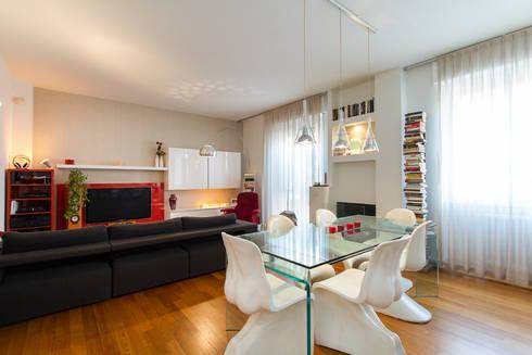 Ufficio Open Space Pro E Contro : Appartamento open space by fabio carria homify