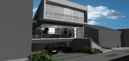 casa brj: Casas modernas por grupo pr | arquitetura e design